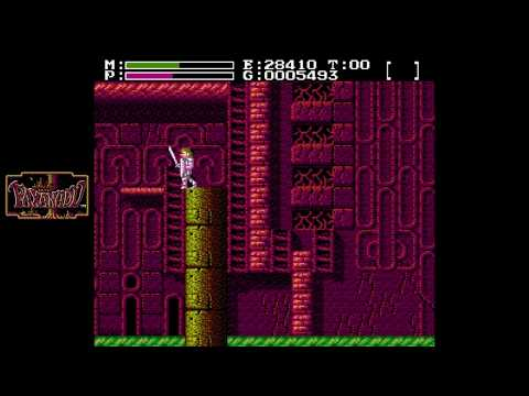 Faxanadu [NES] Commentary #5, Town of Victim; Tower of Mist: Black Onyx; Conflate: Battle Helmet