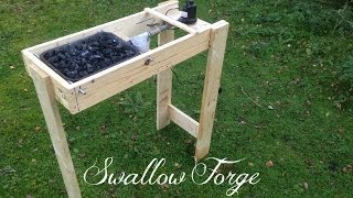 Building A Simple Homemade Blacksmiths Forge - Swallow Forge