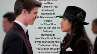 Glee Smooth Criminal Lyrics!