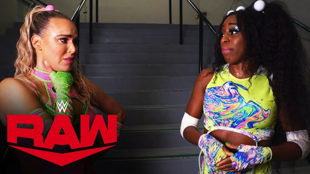 Naomi Believes Lana Is The Hardest Working Athlete In Their Division