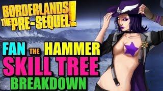 borderlands pre sequel nisha fan the hammer build - 免费在线