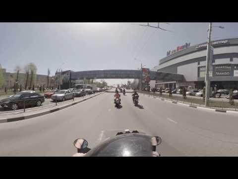 Открытие мотосезона в Белгороде 2017 в формате VR(360) от UVR