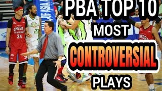 PBA Top 10 Most Controversial Play And Uncalled Violation
