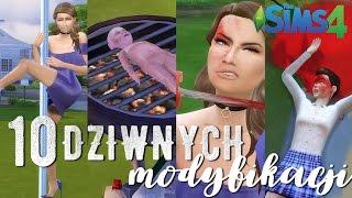 10 NAJDZIWNIEJSZYCH MODÓW do The Sims 4! [+16]
