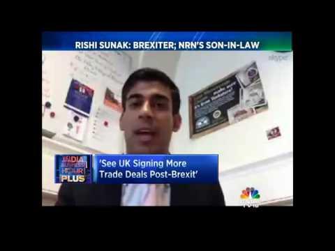 Excl: Brexits Economic Impact - Rishi Sunak: Supporter, 'Leave' Campaign