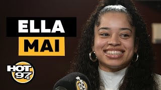 Ebro In The Morning - Ella Mai Addresses Jacquees Situation, Rumored Sex Tape, & Success Of 'Boo'd Up'