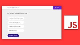 Quiz Web Application (JavaScript)  हिंदी में