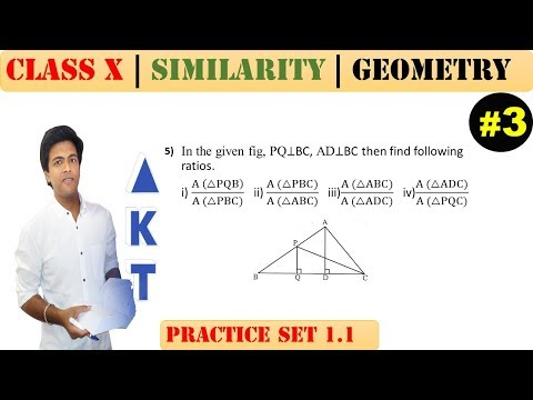 Similarity [Part 3] | Class 10 | Practice set 1.1 (MATHS 2) | Mah. (SSC) Board | Q5