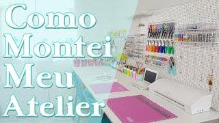 Como Montar Um Atelier | DIYs PEGBOARD | Home Office | Reforma Parte 2 | Viviane Magalhães