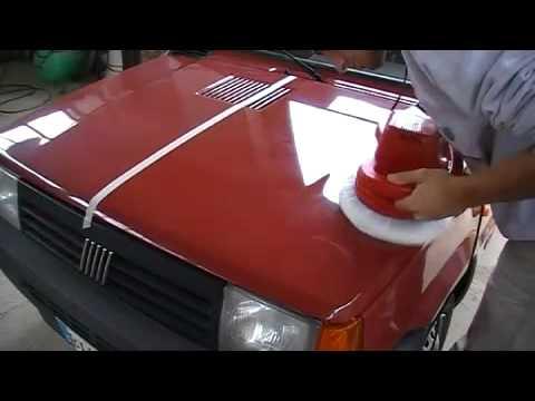 guida e prova di lucidatura cofano auto...