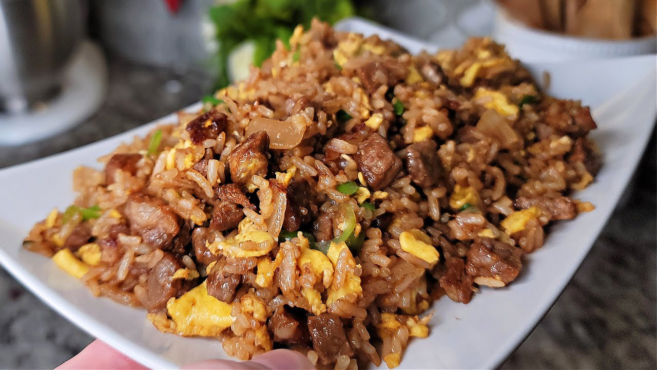 How To Make Beef Fried Rice