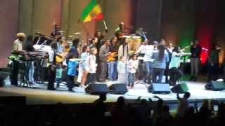 "Marley family performing live at ""Reggae Night XII"" at Hollywood Bowl - June 30, 2013"