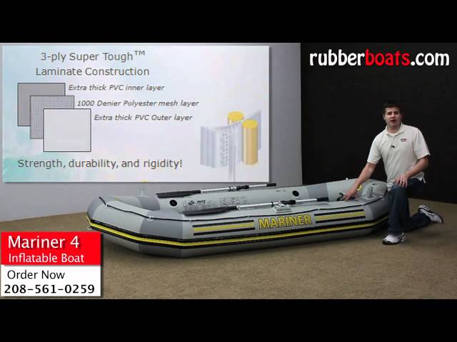 Intex Mariner Inflatable Boat Review by Rubber Boats