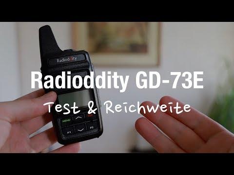 Radioddity GD-73E Lizenzfreie Digitale Funkgeräte (DMR Tier 1)