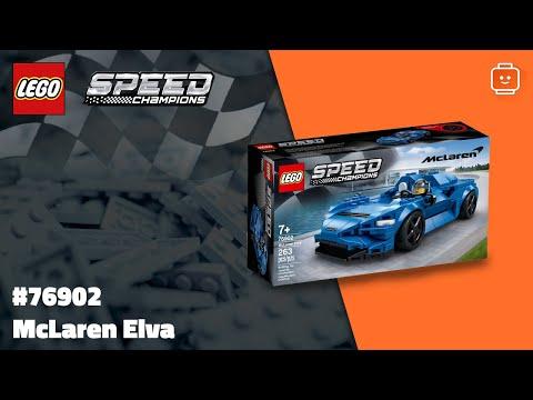 Vidéo LEGO Speed Champions 76902 : McLaren Elva