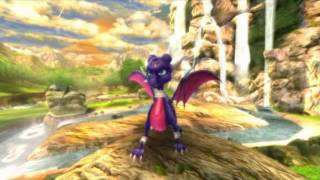Spyro and Cynder-She doesn't see me