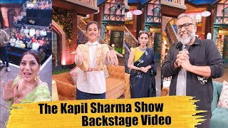The Kapil Sharma Show Behind The Scenes | Taapsee Pannu & Diya Mirza | Thappad Special Episode