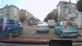 Страшное ДТП в Брянске: мотоциклист попал под автобус
