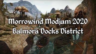 Morrowind Modjam 2020 - Balmora Docks District