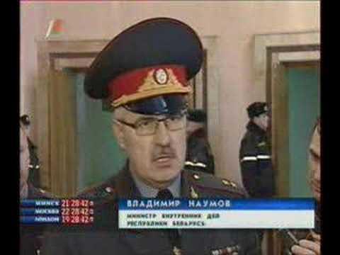 Министр МВД Наумов: Козулин не имел право на этот отпуск