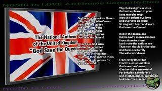 "United Kingdom National Anthem ""God Save the Queen"" INSTRUMENTAL full version lyrics"