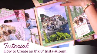 How to Create an 8 x 8 Mini Insta-Album