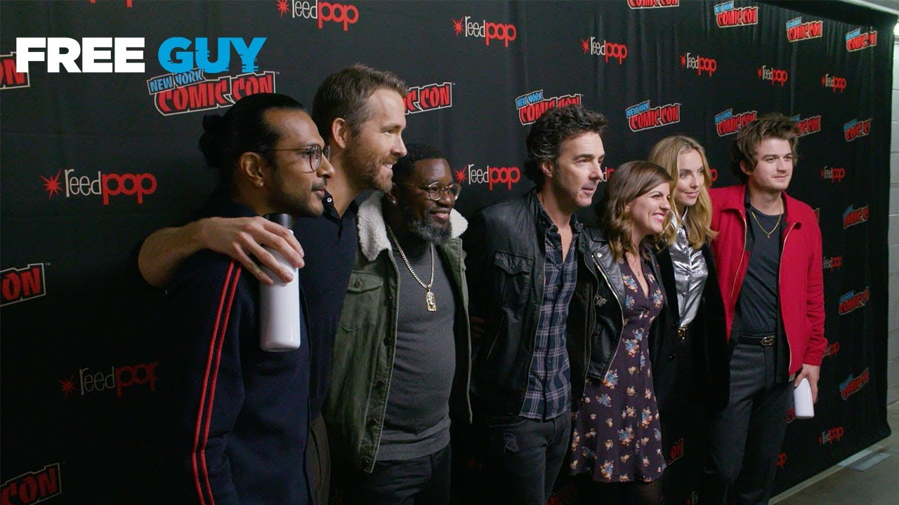 Free Guy - New York Comic Con 2019