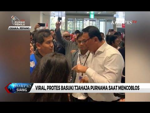 Viral Protes Basuki Tjahaja Purnama di TPS Osaka, Ini Penjelasan PPLN...