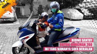 Impresi Naik Suzuki Burgman 200