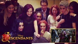 Descendants Cast Trailer Reaction   Descendants 1