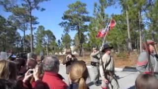 Battle of forks road reenactment 8 - Video Youtube