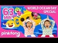 Download Video Baby Shark Dance and more | World Oceans Day | +Compilation | Pinkfong Songs for Children