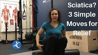 Sciatica? Try These 3 Simple Foam Roller Moves For Relief | Dr K & Dr Wil