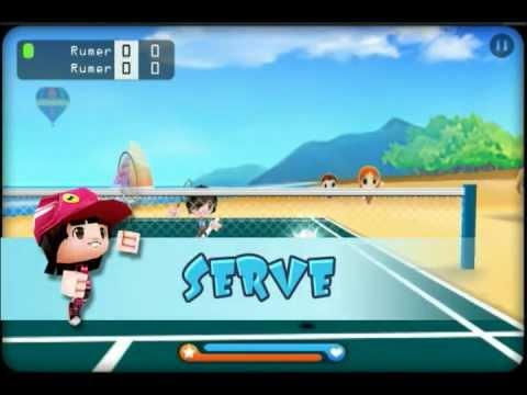 Video of 3D Badminton II