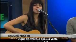 Brooke Fraser Performs Something In The Water (Legendado Português)