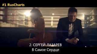 Top 10 Russian chart - Топ 10 русских хитов - Русский чарт МУЗ-ТВ 16 02 2014