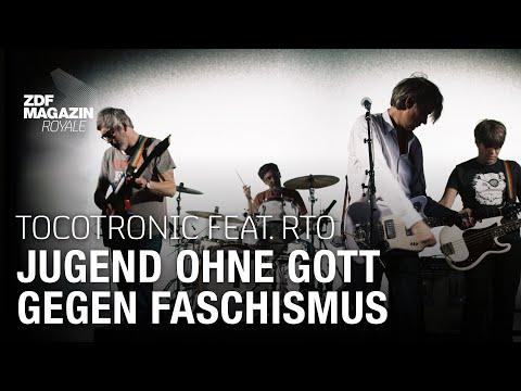 "Tocotronic feat. RTO Ehrenfeld  - ""Jugend ohne Gott gegen Faschismus"" | ZDF Magazin Royale"