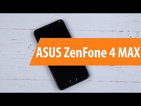 Распаковка ASUS ZenFone 4 MAX ZC554KL / Unboxing ASUS ZenFone 4 MAX ZC554KL