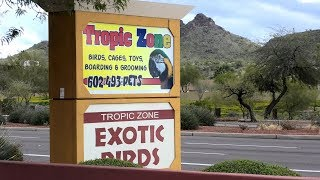 Bird Store Tour of Tropic Zone in Phoenix Arizona