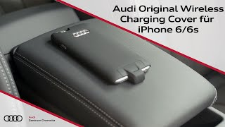 Audi Original Wireless Charging Cover für iPhone 6/6s