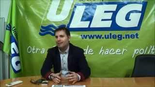 preview picture of video 'Carlos Delgado (ULEG): La única opción vecinal de Leganés somos nosotros'
