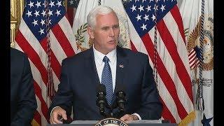 VP Pence In New York-Full Speech (audio only)