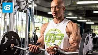 Total Arm Definition Routine | Larry Edwards by Bodybuilding.com