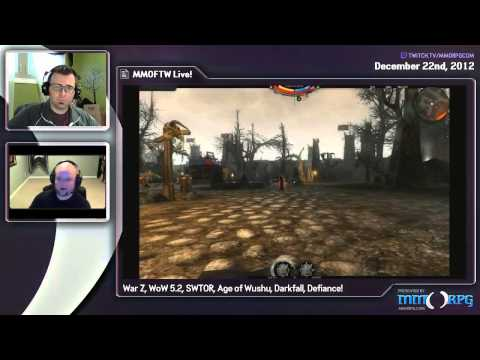 MMOFTW Live - Ep 4 - The War Z Debacle