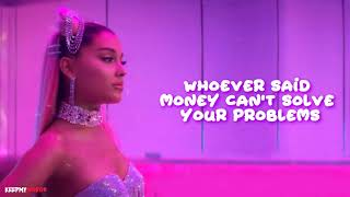 Ariana Grande - 7 Rings ( Lyrics Video )
