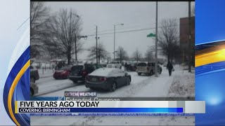 Five years ago today: snow in Birmingham