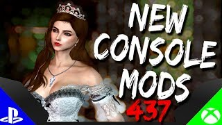 Skyrim Special Edition: ▶️5 BRAND NEW CONSOLE MODS◀️ #437 (PS4/XB1/PC)