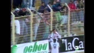 Albacete 5 - Cádiz 0. Temp. 92/93. Jor. 16.