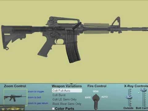 CARA PEMBUATAN SENJATA M16 | KASKUS