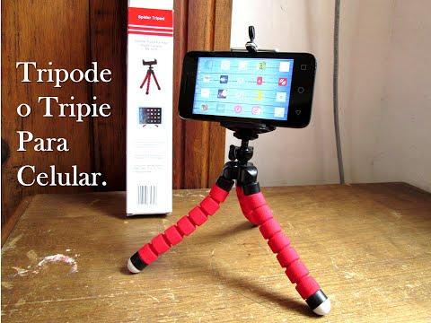Unboxing: Tripode O Tripie Para Celular; Tablet O Camara!